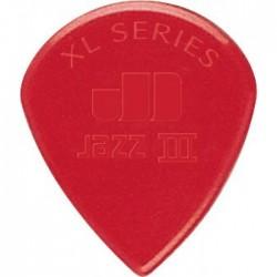 Dunlop Nylon Jazz III XL Red kostka gitarowa 1.38mm