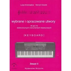 Fermata Wybrane utwory na keyboard cz.3