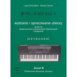 Fermata Wybrane utwory na keyboard cz.4