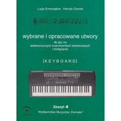 Fermata Wybrane utwory na keyboard cz.4