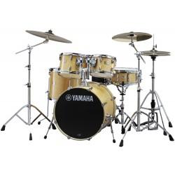 Yamaha Stage Custom Birch Standard Kit Natural Wood Zestaw perkusyjny z hardwarem