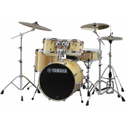 Yamaha Stage Custom Birch Standard Kit Natural Wood Zestaw perkusyjny z hardwarem