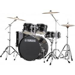 Yamaha Rydeen Standard Black Glitter + Paiste 101 + Hardware