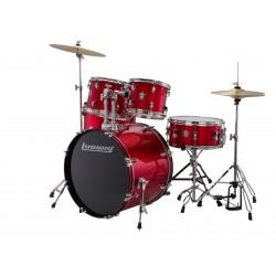 Ludwig Accent Drive Red Zestaw + Hardware + Talerze LC17514