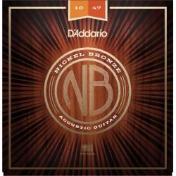 D'Addario NB1047 Nickel Bronze /10-47/
