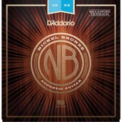 D'Addario NB1252BT Nickel Bronze /12-52/