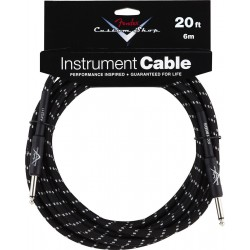 Fender Custom Shop Cable Black 6m