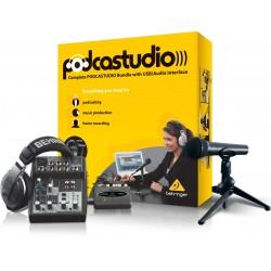 Behringer PODCASTUDIO USB Zestaw domowego studia nagraniowego
