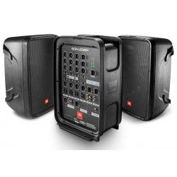 JBL EON 208P zestaw kolumn głośnikowych z powermikserem 300W