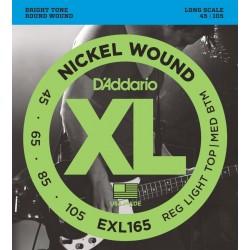 D'Addario EXL165 /45-105/ do basu 4 str
