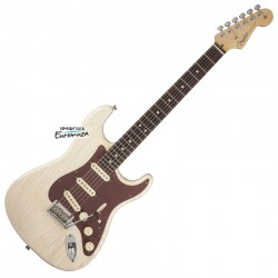 Fender FSR American Stratocaster Rustic Ash RW OW