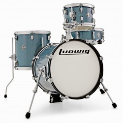 Ludwig Breakbeats Shell Pack LC179X023 Azure Blue Sparkle