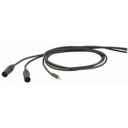 Die Hard DHS595LU5 Kabel audio mini stereo jack M 2x XLR M 5m