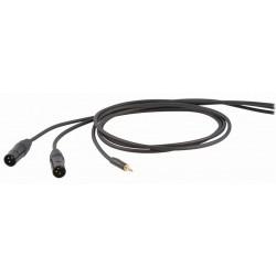 Die Hard DHS595LU3 Kabel audio mini stereo jack M 2x XLR M 3m