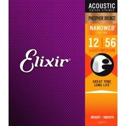 Elixir Nanoweb Phosphor Bronze /12-56/