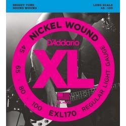 D'Addario EXL170 /45-100/ do basu 4 str
