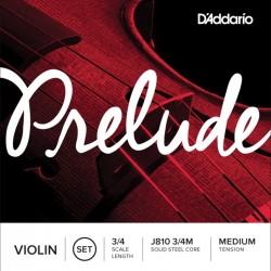 D'Addario Prelude Violin J810 3/4M