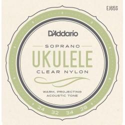 D'Addario EJ65S struny do ukulele sopranowego