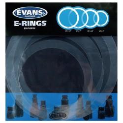 Evans E-Ring Fusion (10/12/14/14) Zestaw pierścieni tłumiących do naciągów