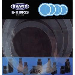 Evans E-Ring Standard (12/13/16/14) Zestaw pierścieni tłumiących do naciągów