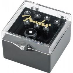 Fender Bridge Pin Set Black Zestaw 8 Kołków do Gitary Akustycznej