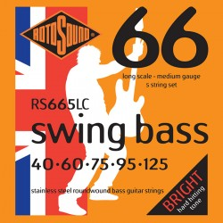 Rotosound RS665LC /40-125/ do basu 5 str stalowe