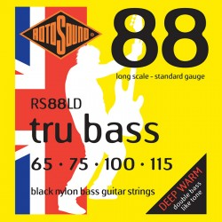 Rotosound RS88LD /65-115/ do basu 4 str czarny nylon