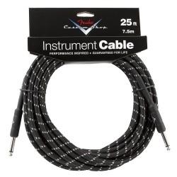 Fender Custom Shop Cable Black 7,5m